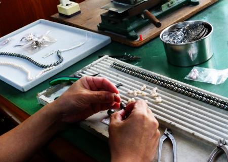 朝日眞珠商会を支える技術力のイメージ